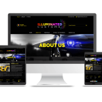 Designed & Developed website for Illuminated Customs