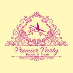 Designed logo for Premier Party Rental and Events
