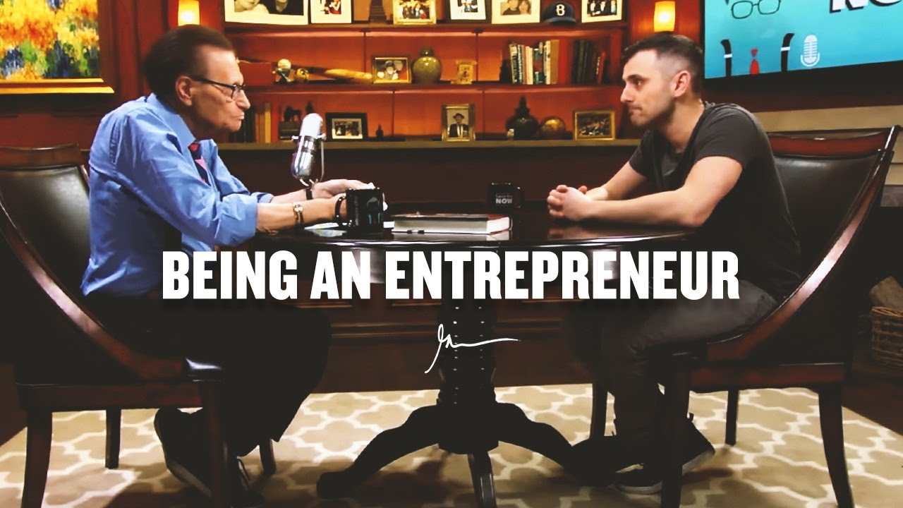 an interview with Larry King, Gary Vaynerch